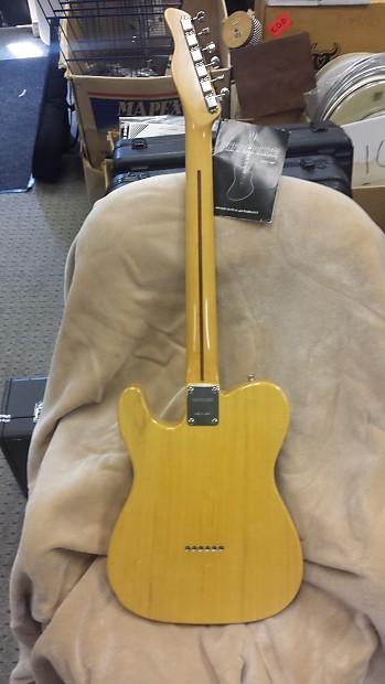 fernandes telecaster 6 string electric guitar in reverb. Black Bedroom Furniture Sets. Home Design Ideas