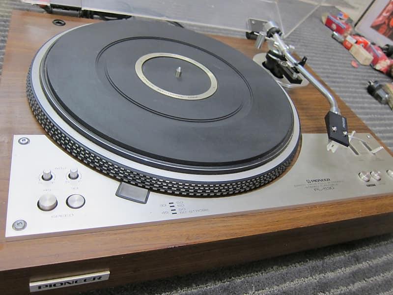 Vintage Pioneer PL-530 Auto, DD Turntable, Stanton Cartridge, Ex Sound,  Quality, 120/220 VOLT 1970s