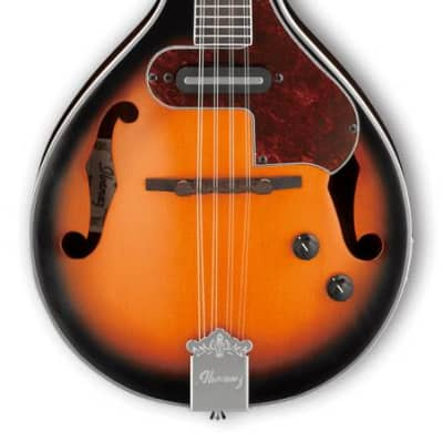 Ibanez M510E A-Style Acoustic/Electric Mandolin,  Brown Sunburst High Gloss for sale