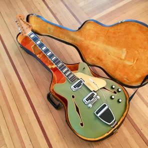 Fender Coronado II 2 c 1970 Sonic blue original vintage USA