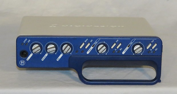 Digidesign Mbox 2 Usb Digital Audio Interface Reverb
