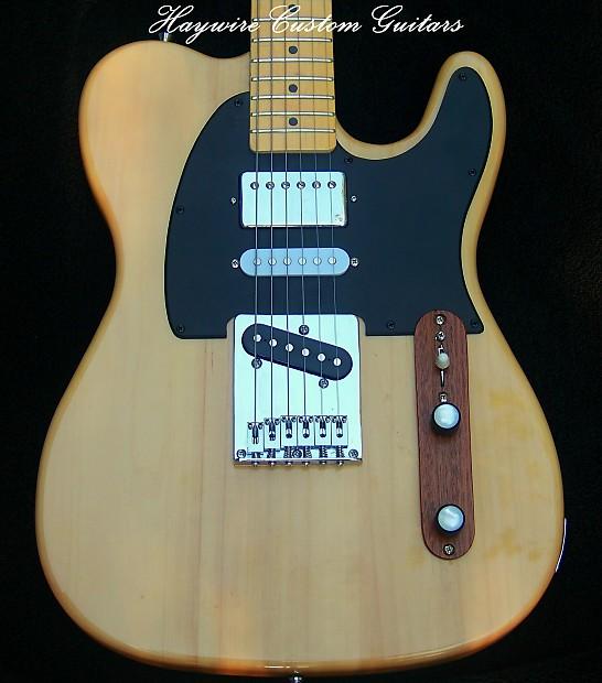 Fender Tele Modifed by Haywire Custom: Nashville Fender Telecaster+Humbucker+TrebleBleed+Custom on