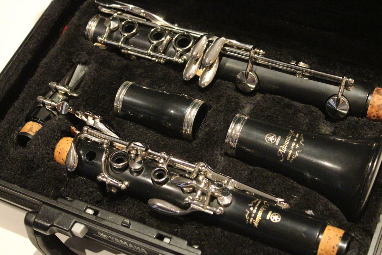 yamaha ycl 200ad ii advantage bb clarinet excellent