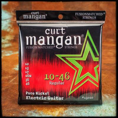 Curt Mangan Pure Nickel Electric Guitar 10-46