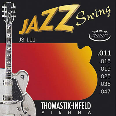Thomastik-Infeld  JS111 Jazz Swing Flat Wound Set, 11-47