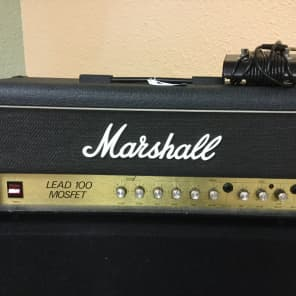 Marshall Model 3210 Lead 100 MOSFET Head 1980s