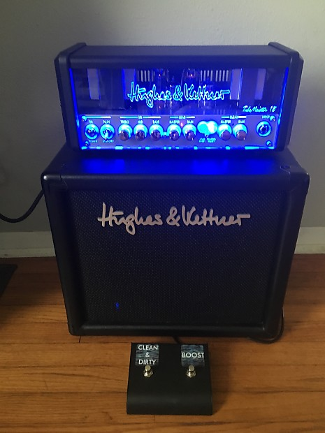 hughes kettner tubemeister 18 head and 10 cab and reverb. Black Bedroom Furniture Sets. Home Design Ideas