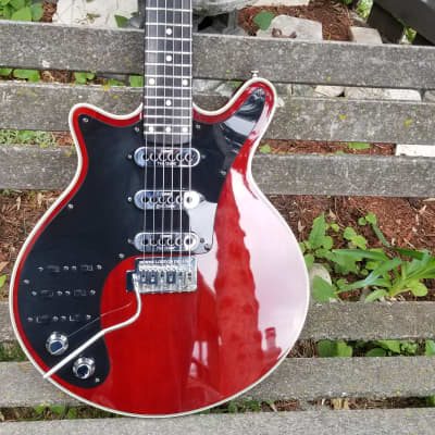 Burns Brian May Signature Special Red LEFT Handed w/OHC for sale