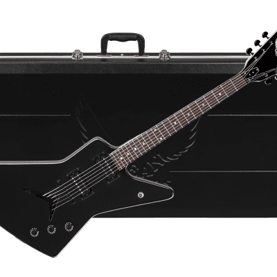 DEAN ZX electric GUITAR new ZX Classic Black w/ ABS MOLDED Hard Case - Bolt-on - DMT Pickups - NEW for sale