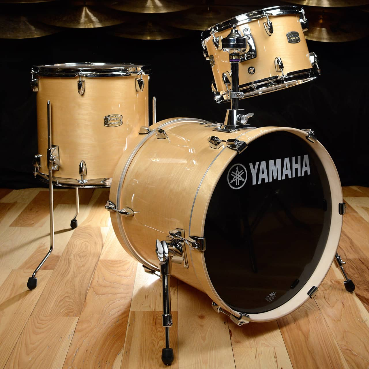 yamaha stage custom birch bebop 12 14 18 3pc kit natural. Black Bedroom Furniture Sets. Home Design Ideas