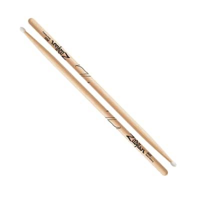 Zildjian ZJZN Jazz Nylon Tip Hickory Drumsticks, Pair