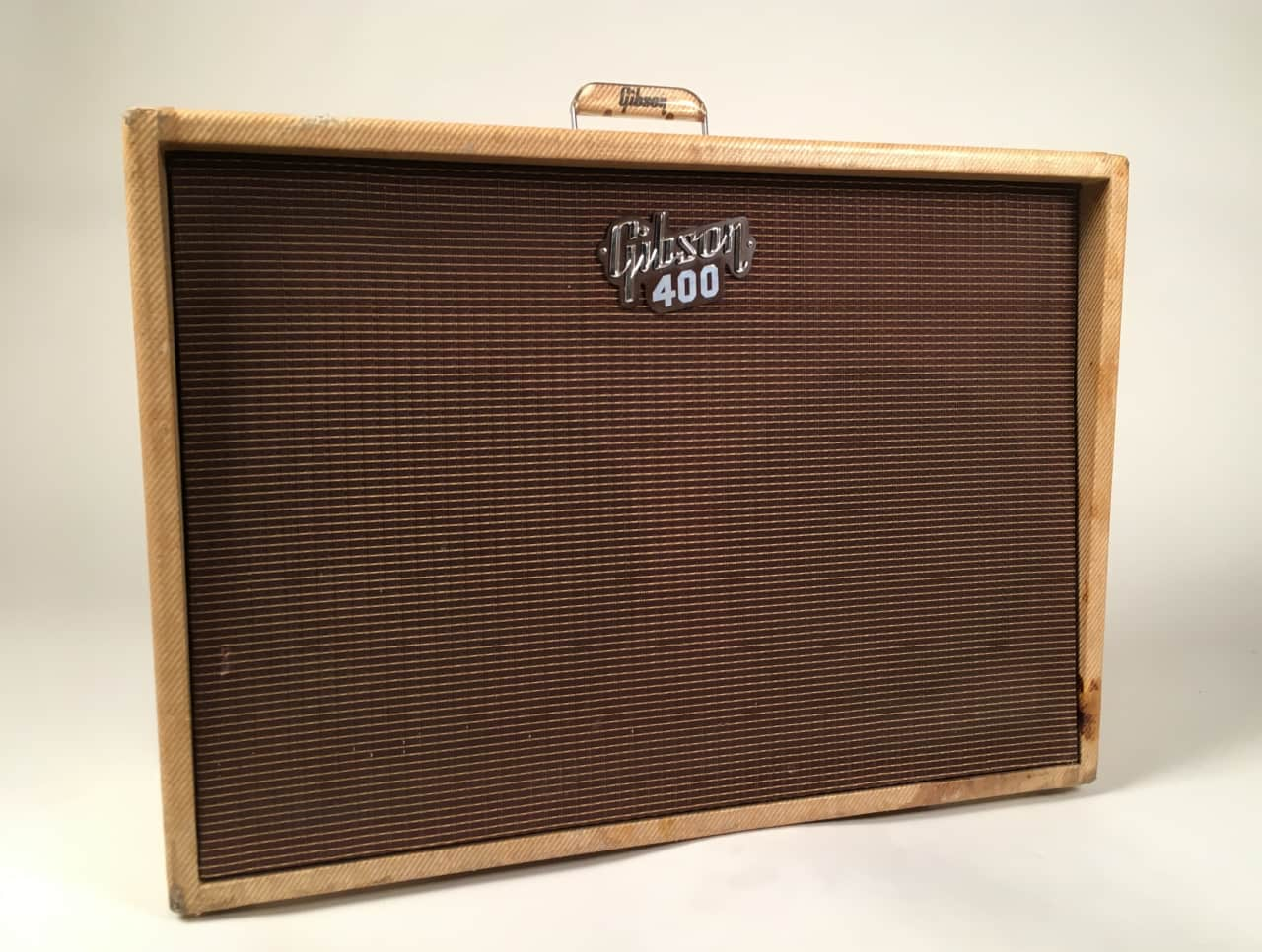 vintage 1961 tweed gibson super 400 model ga 400 amplifier reverb. Black Bedroom Furniture Sets. Home Design Ideas