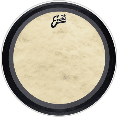 """Evans BD26EMADCT EMAD Calftone Bass Drum Head - 26"""""""