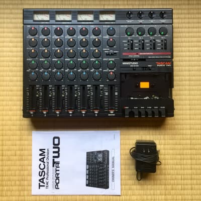 ☆ 1987 Tascam 4-Track Porta Two Portastudio Tape TEAC ~ MTR ☆ Serviced/Calibrated ☆
