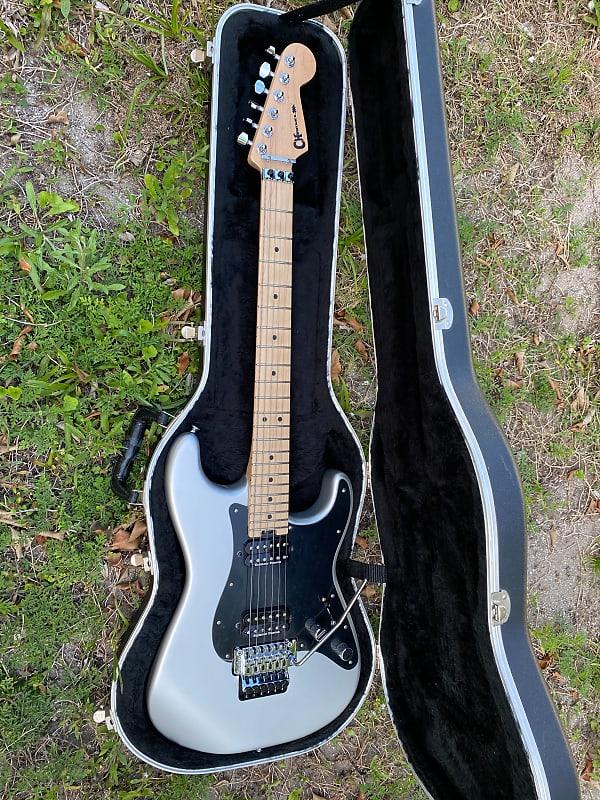Charvel Pro Mod So Cal Silver Satin Floyd Duncan's..
