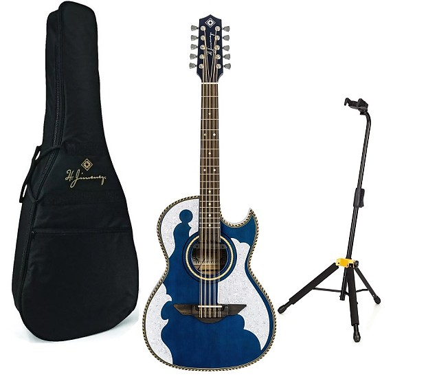 Guitars & Basses Jimenez El Patron Lbq4etb 10 String Bajo Quinto Acoustic Electric Guitar Blue Acoustic Electric Guitars Fast Deliver H