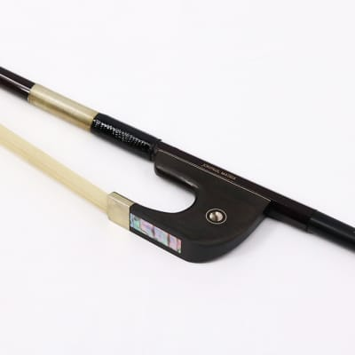 JonPaul Matrix 3/4 Size Woven Carbon Fiber Bass Bow - German Grip - Old Stock
