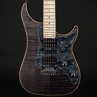 Vigier Excalibur Special in Black Diamond Matte, Maple with Case #170093 for sale