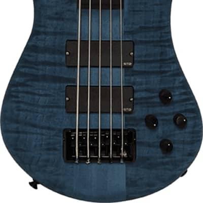 Spector Euro 5 LX EMG  Black & Blue Matte