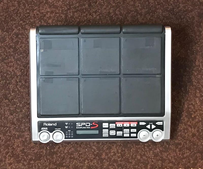 used roland spd s sampling pad with case reverb. Black Bedroom Furniture Sets. Home Design Ideas