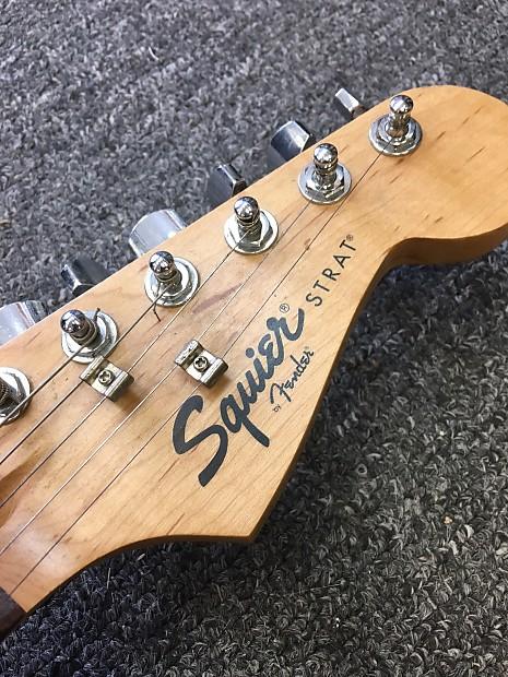 Squier Strat Electric Guitar Sunburst - Made in China
