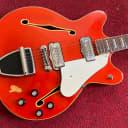 Fender Coronado II 1967 Transparent Red