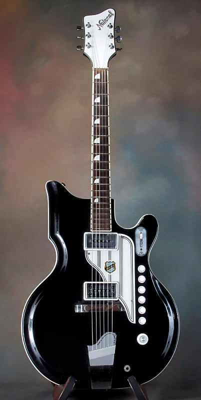 1961 National ValPro 88 - black/white | Guitar Works Ltd