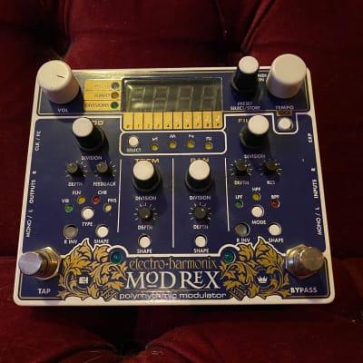 Electro-Harmonix Mod Rex Polyrhythmic Modulator w/ AC adapter