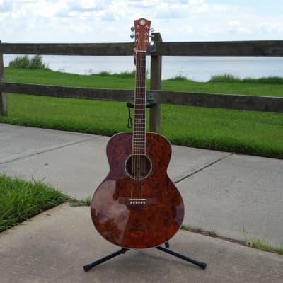 Revival RJ-200 Bubinga Jumbo Acoustic Guitar: Free Shipping for sale