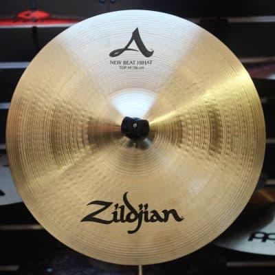 "Zildjian 14"" A Series New Beat Hi-Hat Cymbals (Pair)"