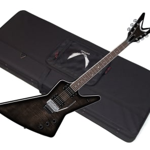 Dean Z 79 F TBK X-Style Flame Top with Floyd Rose Trans Black