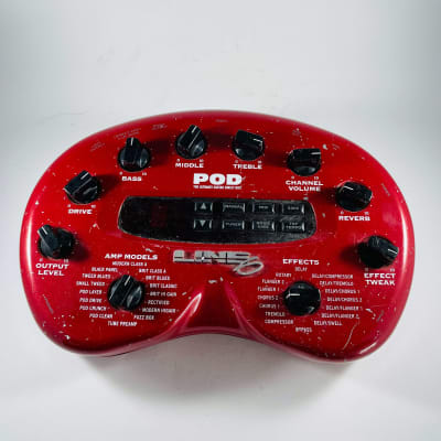 Line 6 POD 2.0 Multi-Effect and Amp Modeler *Sustainably Shipped*