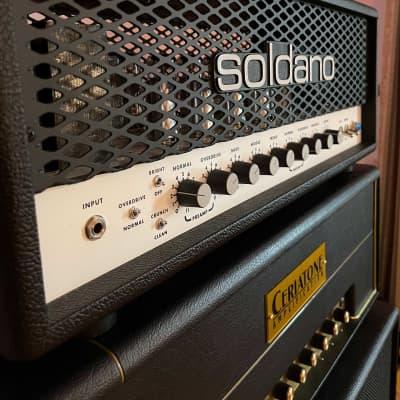 Soldano SLO-100 Head 2020 Black for sale