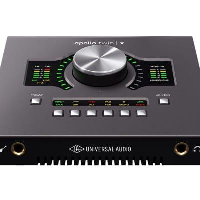 Universal Audio Apollo Twin X DUO Thunderbolt 3 Audio Interface