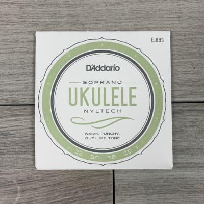 D'Addario EJ88S Pro-Arté Nyltech Ukulele Strings, Soprano