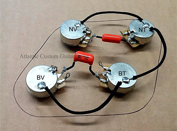 Upgraded 50s Style Wiring Harness