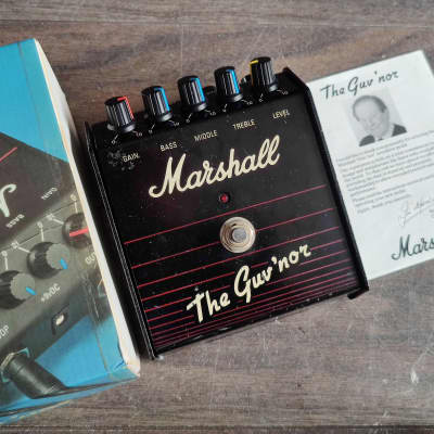 1980's Marshall Guv'nor (Made in England) Vintage Distortion w/Box for sale