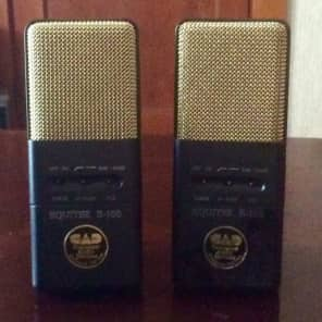 CAD Equitek E-100 Large Diaphragm Supercardioid Condenser Microphone Stereo Pair