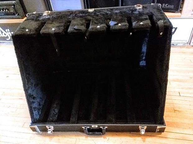 Roadrunner Rrgs6 6 Guitar Stand Case Black Tolex Used