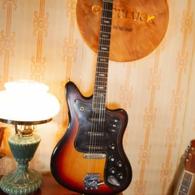 MUSIMA Eterna de Luxe 25 rare vintage electric guitar strat jaguar jazz GDR 70 for sale