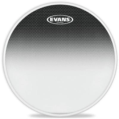 """Evans TT10SB1 System Blue SST Marching Tenor Drum Head - 10"""""""
