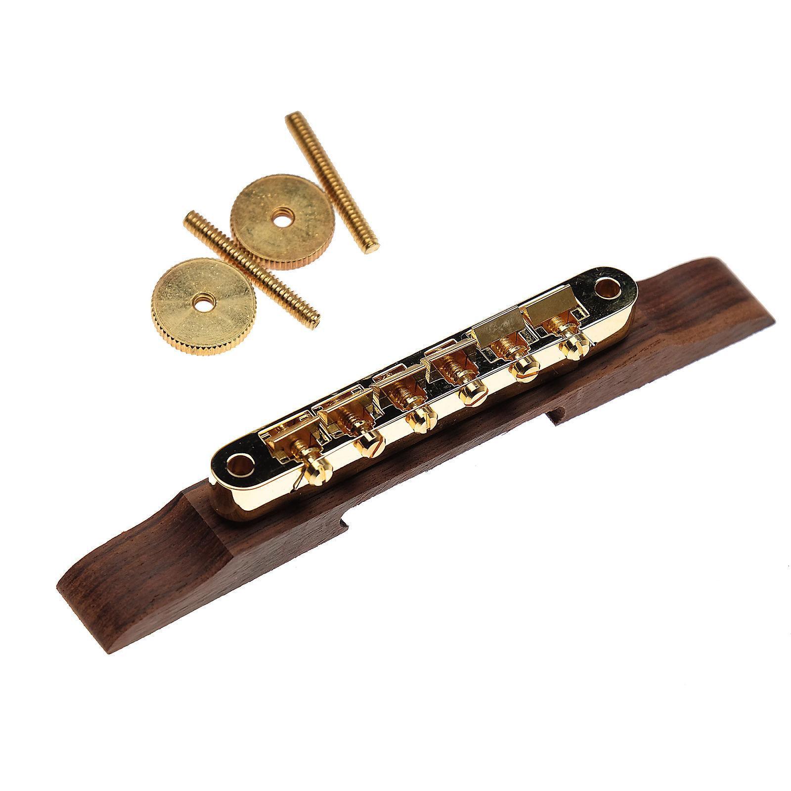 Gibson ABR-1 Tune-O-Matic w/RW Base - Gold
