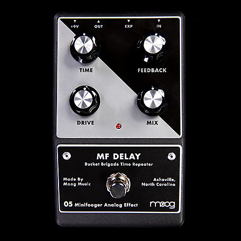 moog mf delay minifooger delay guitar effects pedal reverb. Black Bedroom Furniture Sets. Home Design Ideas