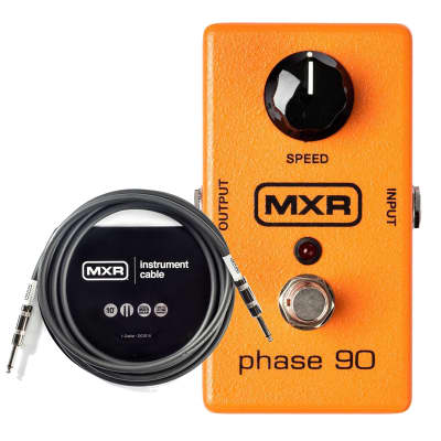 MXR M-101 Phase 90 Bundle W/FREE MXR 10ft Instrument Cable image