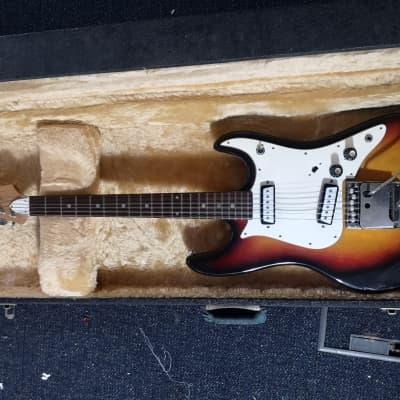 Granada  Offset Jazzmaster Strat Shape 60s-70s Tobbacco for sale