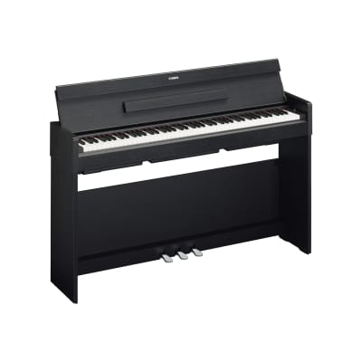 Yamaha YDP-S34 Arius Series Slim Digital Console Piano, Black Walnut