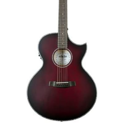 Schecter Orleans Stage Acoustic Electric Guitar Vampyre Red Burst for sale