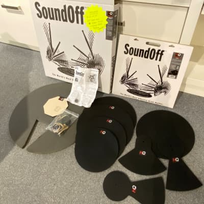 Evans SoundOff Fusion Box Set of Drum and Cymbal Mutes