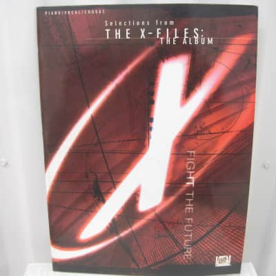 Selections from The X-Files: The Album Sheet Music Song Book Piano Vocal Guitar Chords