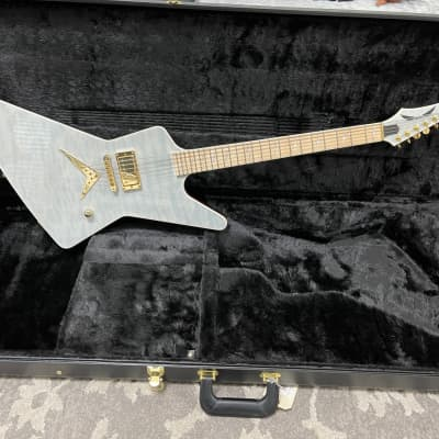 Dean Z Custom Quilt Top Trans White new other USA made Pearl Deceiver inlays USA DMT lights out pups for sale